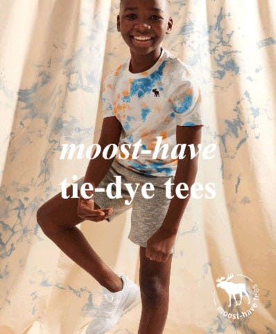 New Tie-Dye from Abercrombie Kids