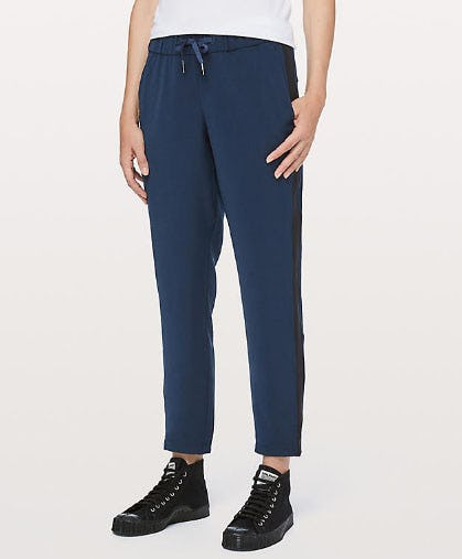 On The Fly Pant Woven Track Stripe from lululemon