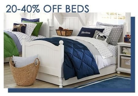 20–40% Off Beds, Cribs and Bunks