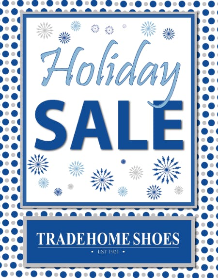 Holiday Sales Event from Tradehome Shoes