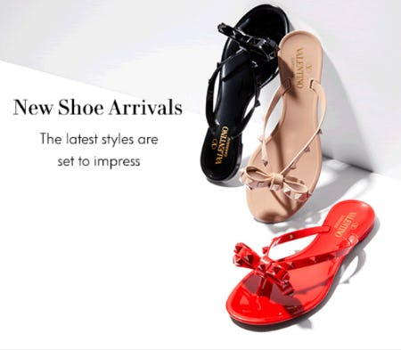 New Shoe Arrivals from Neiman Marcus