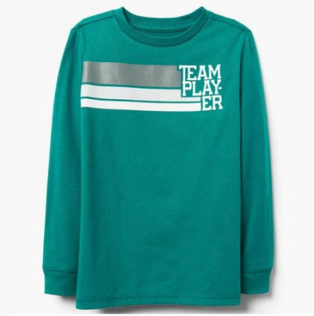 Team Player Tee from Gymboree