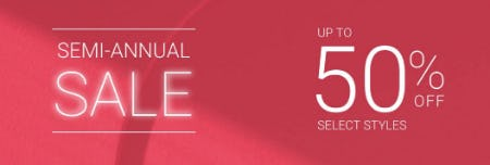 Up to 50% Off Semi-Annual Sale from sunglass hut