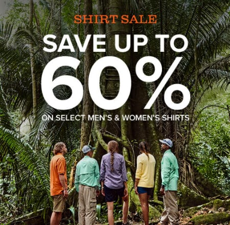 Shirt Sale: Save Up to 60% from Orvis