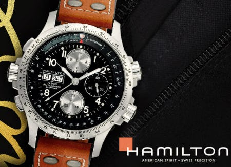 The Hamilton Khaki Collection from Jared Galleria Of Jewelry