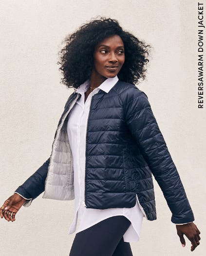Reversawarm Down Jacket from Athleta