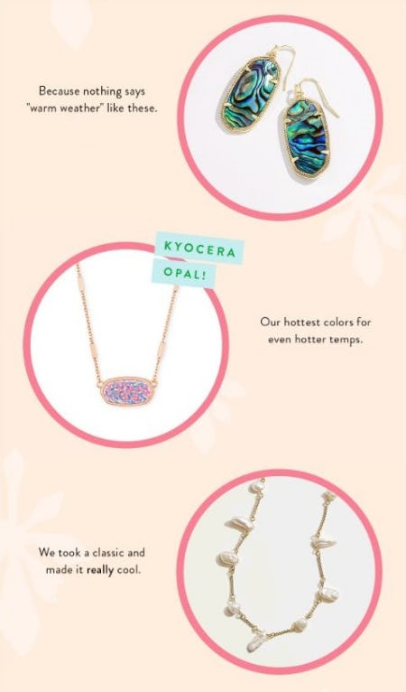 Trending for Summer from Kendra Scott