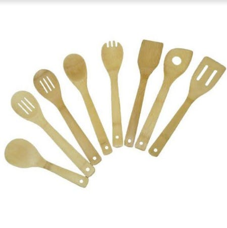 Kitchen Collection Set of 8 Bamboo Tools NOW ONLY $3.97 from Kitchen Collection