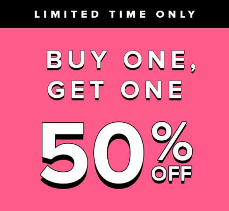 BOGO 50% Off from Fashion To Figure