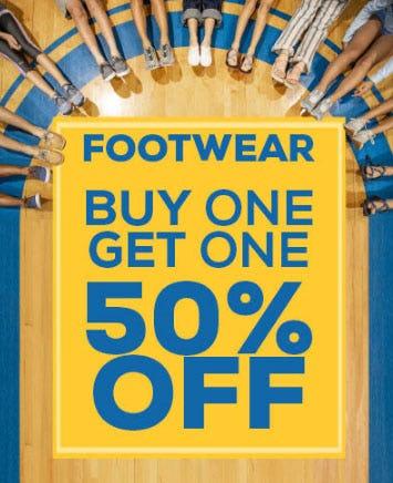 BOGO 50% Off Footwear at Sun & Ski Sports | Sooner Mall