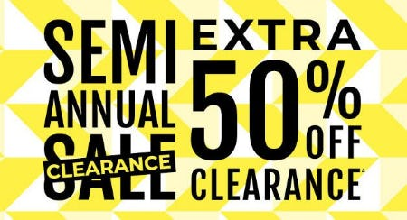 Semi Annual Clearance Sale: Extra 50% Off Clearance from Torrid