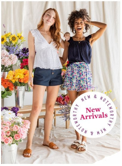 Shop New Arrivals from francesca's