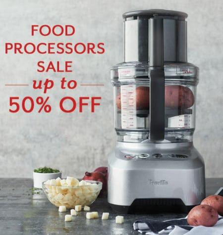 Up to 50% Off Food Processors