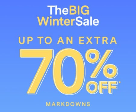 The Big Winter Sale: Up to an Extra 70% Off Markdowns from PacSun