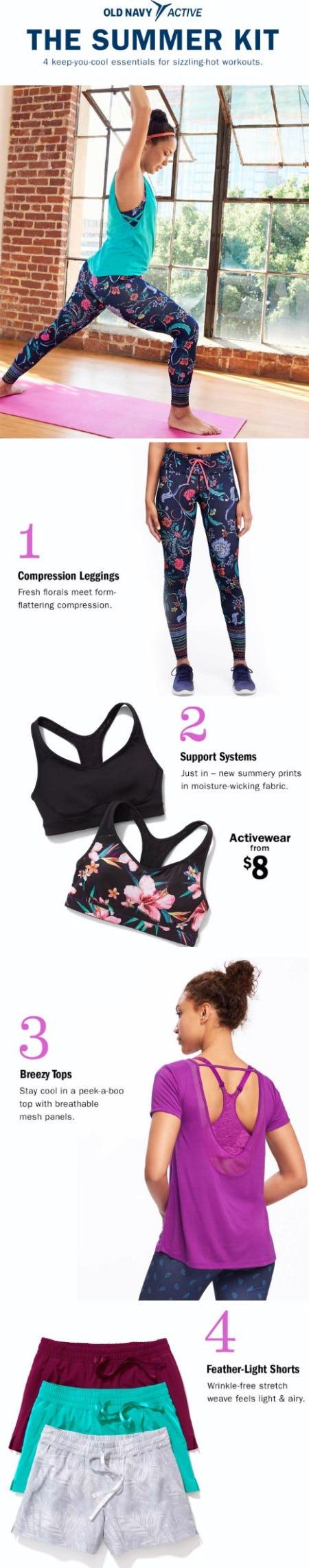 4 Activewear Essentials