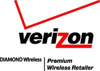 Verizon Diamond Wireless Premium Wireles Logo