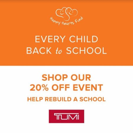 TUMI FALL Event