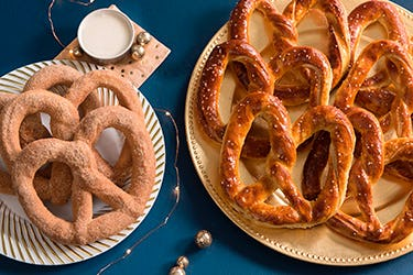 Get $25 off your $100+ Pretzel Catering Order from Auntie Anne's