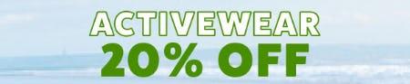 20% Off Activewear from Papaya