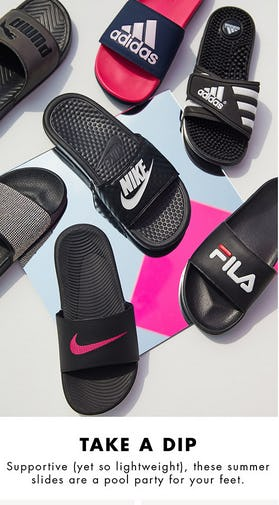 Summer Slides from DSW Shoes