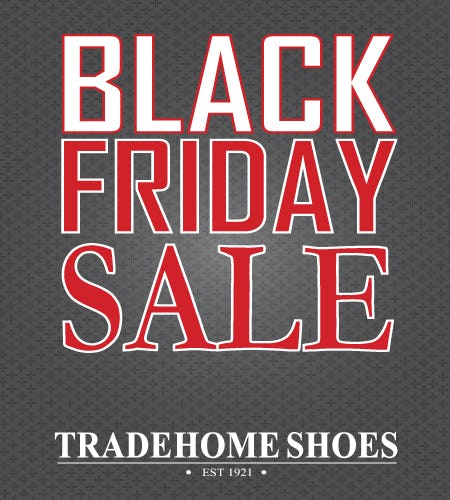 Black Friday Event from Tradehome Shoes