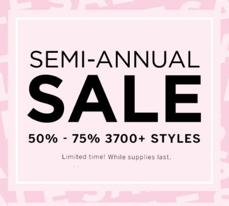 Semi-Annual Sale from Victoria's Secret