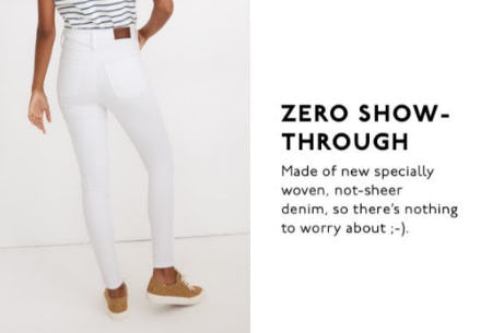 Zero Show-Throgh from Madewell