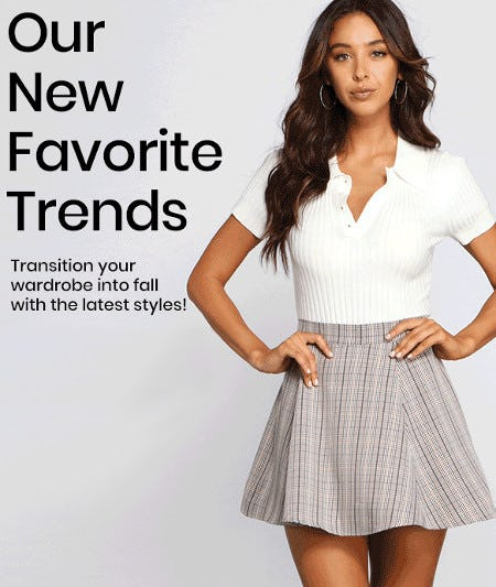 New Fall Trends Have Arrived from Windsor