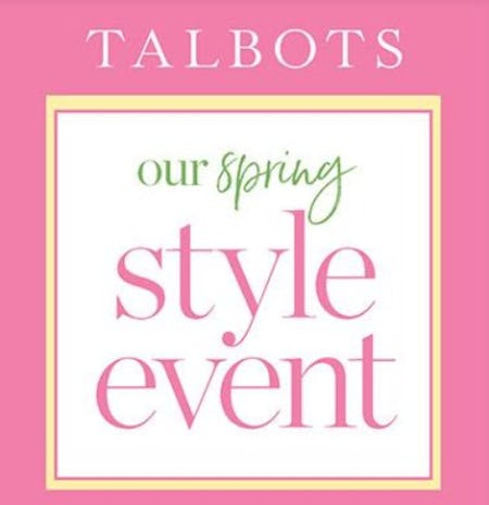 Spring Style Event from Talbots