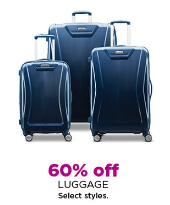 60% Off Luggage from Kohl's