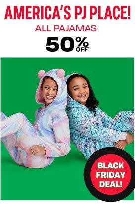 All Pajamas 50% Off from The Children's Place