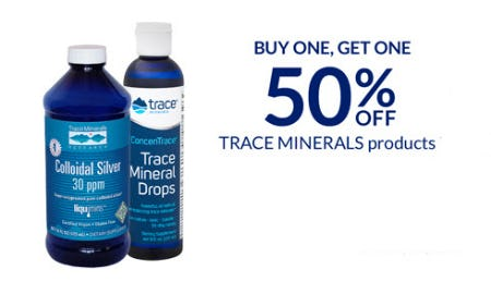 BOGO 50% Off Trace Minerals Products from The Vitamin Shoppe