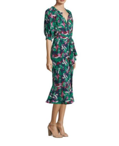 Saloni Olivia Silk Dress