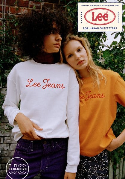 New Vintage-Inspired Collection from Lee only at UO
