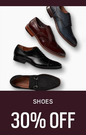 Shoes 30% Off from Men's Wearhouse