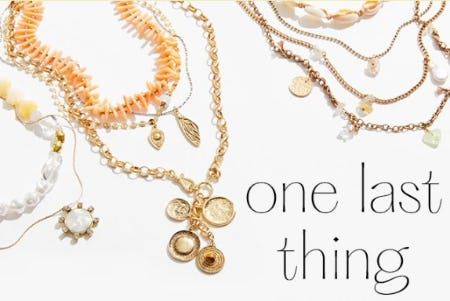 Necklaces to Finish your Look