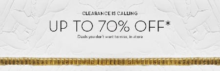 Up to 70% Off Clearance from Z Gallerie