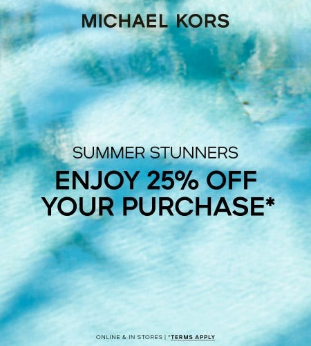 ENJOY 25% OFF YOUR PURCHASE