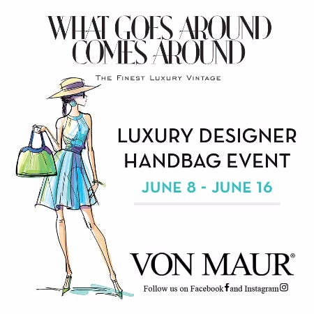 WGACA Luxury Designer Handbag Event from Von Maur