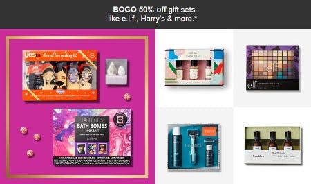 BOGO 50% Off Gift Sets from Target