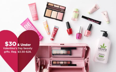 $30 & Under Valentine's Day Beauty Gifts from Kohl's