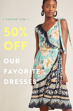 50% Off Dress Faves from Anthropologie