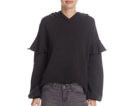 Nation LTD Cleo Ruffle Trim Hoodie