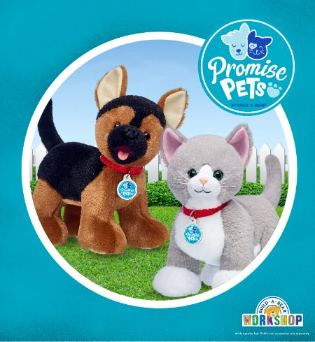 Bring Happiness Home with NEW Promise Pets from Build-A-Bear Workshop!® from Build-A-Bear Workshop