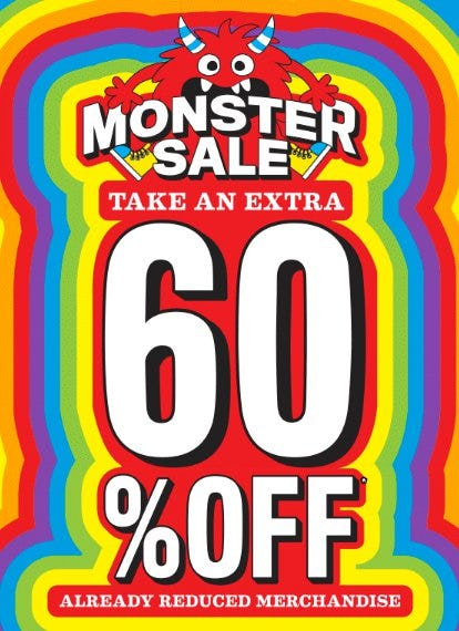 69c32ae3d Sale at The Children's Place. Monster Sale
