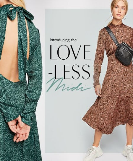 Introducing the Love-Less Midi from Free People