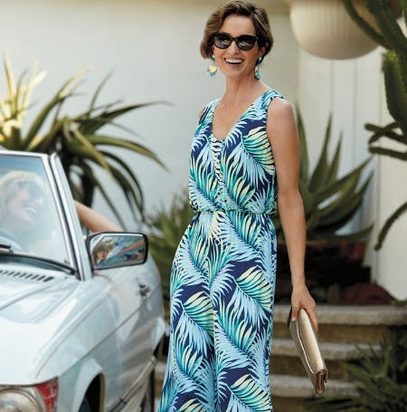 Women's Dress Promo from Tommy Bahama