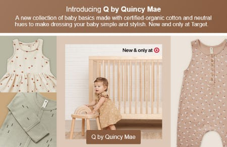 Introducing Q by Quincy Mae