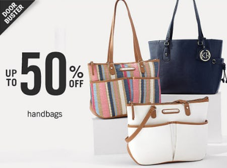 Up to 50% Off Handbags from Belk