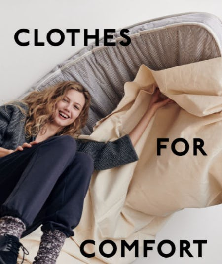 Clothes for Comfort from Madewell